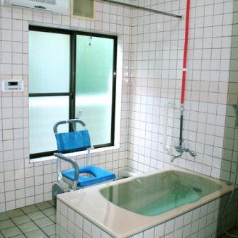 イメージ:浴室の施設マップ・図面
