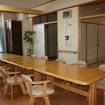 イメージ:食堂・リビングの施設マップ・図面